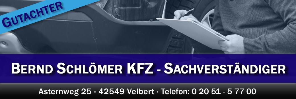 KFZ-Gutachter Bernd Schlömer aus Velbert
